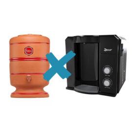 filtro de barro ou purificador