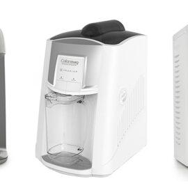 imagem de 3 purificadores de água